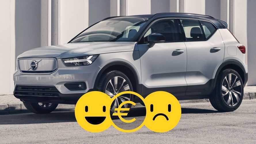Promozione Volvo XC40 elettrica, perché conviene e perché no
