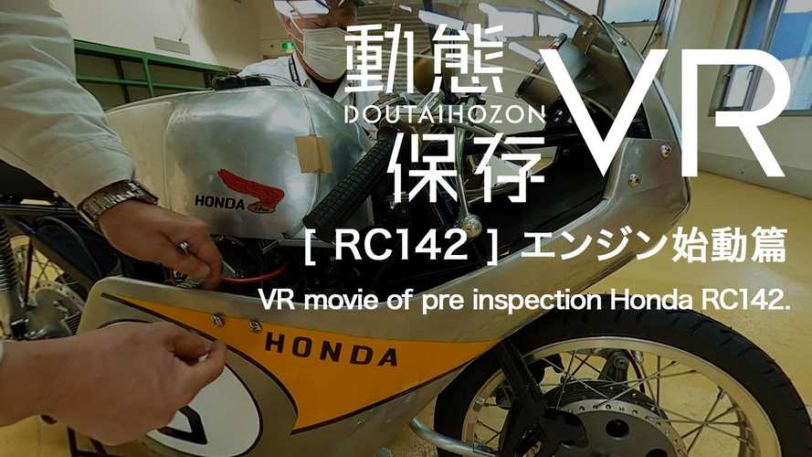 Watch Honda Take You On A Virtual Tour Of The Legendary RC142