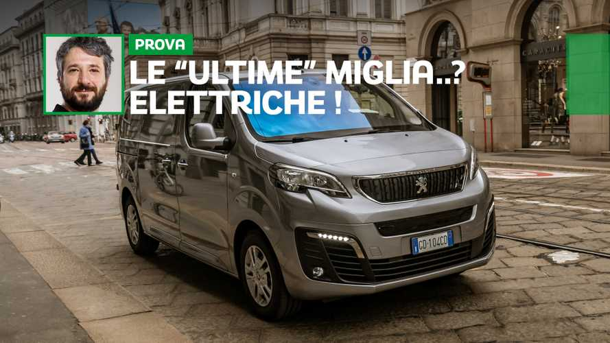 Peugeot e-Expert, ecco come va il furgone elettrico da 330 km