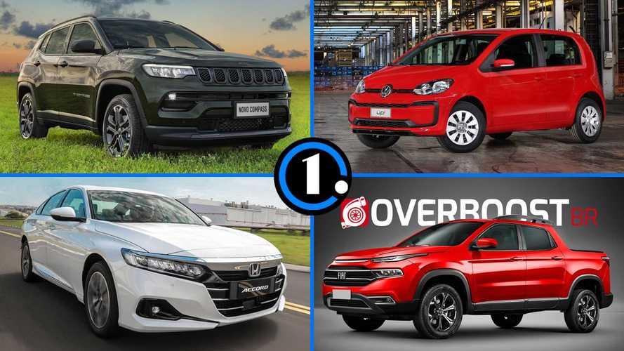 Semana Motor1: Jeep Compass 2022, o fim do VW Up! e mais