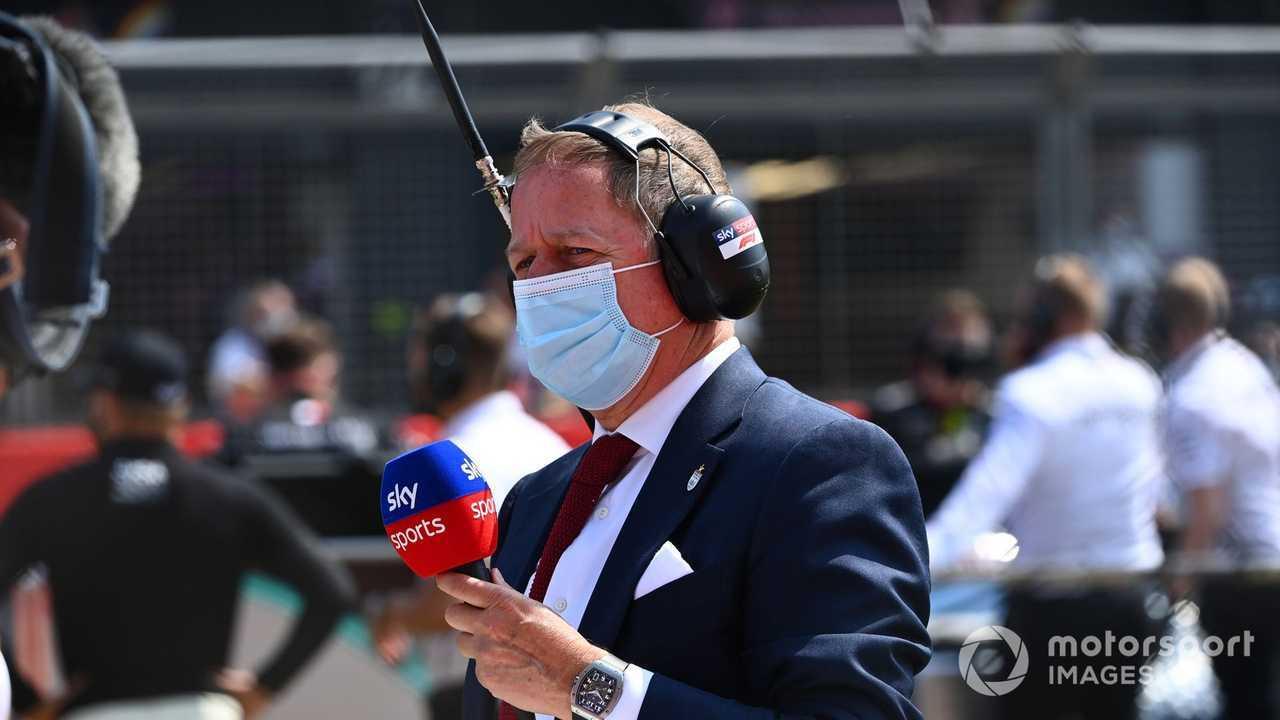 Martin Brundle, Sky TV at 70th Anniversary GP 2020
