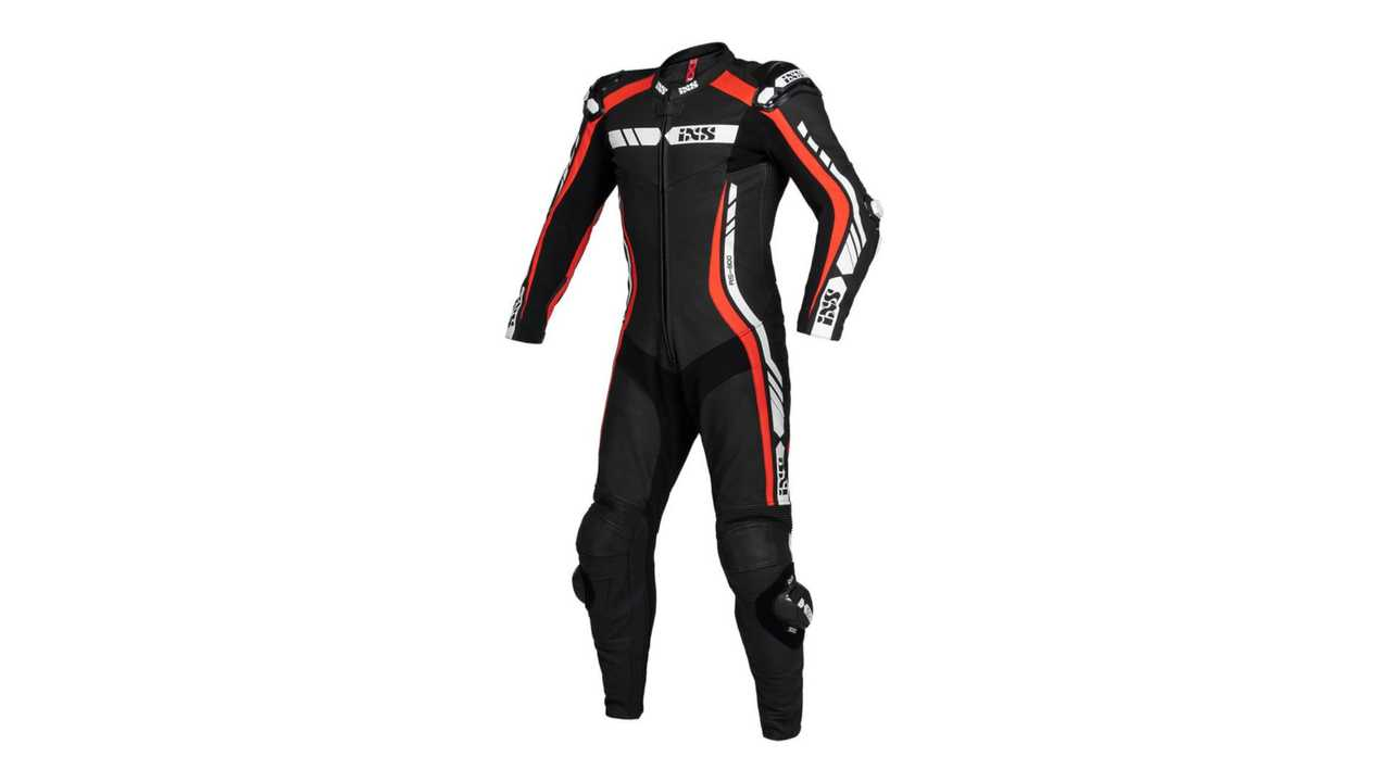 IXS Sport LD Suit RS-800 1 - Red Front