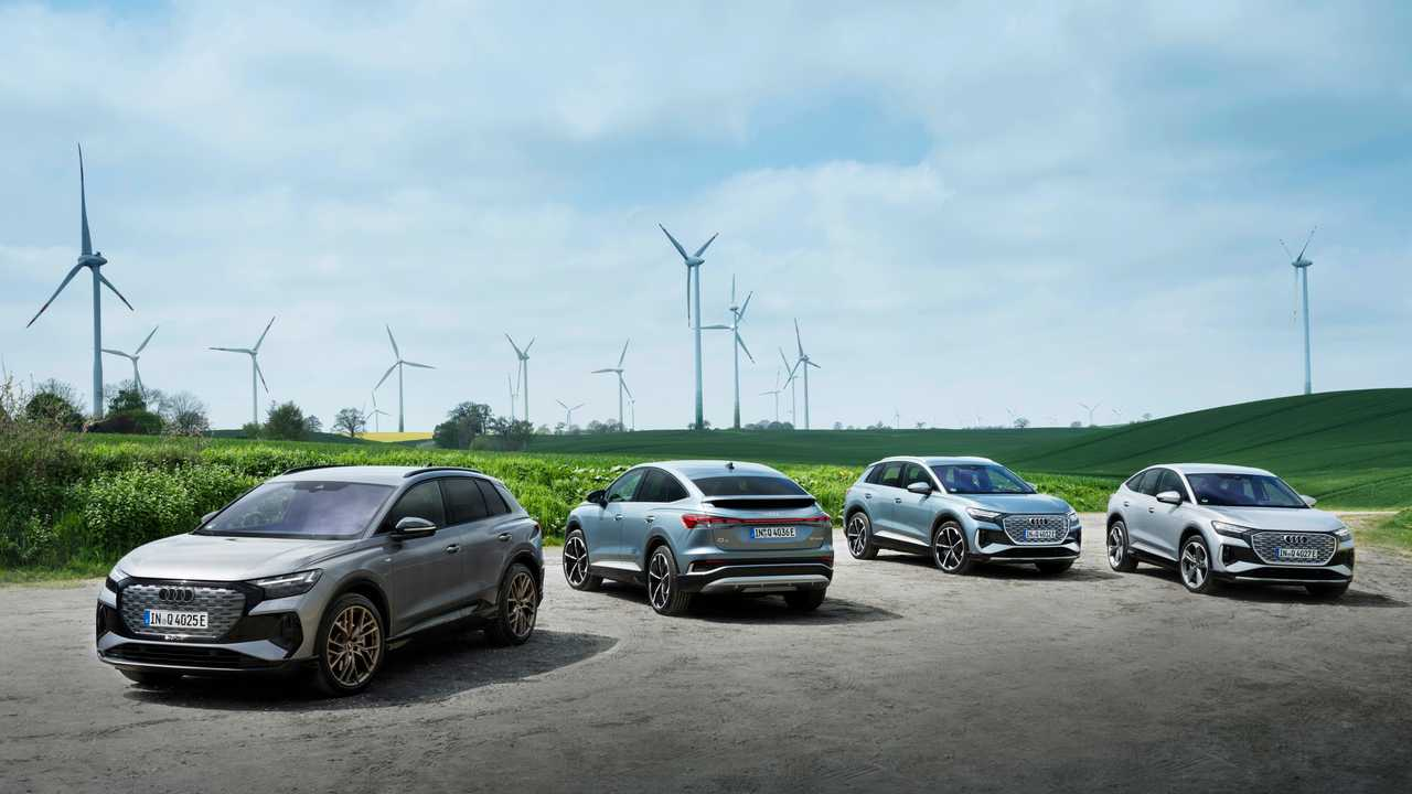 Die Elektroautos von Audi im Jahr 2021
