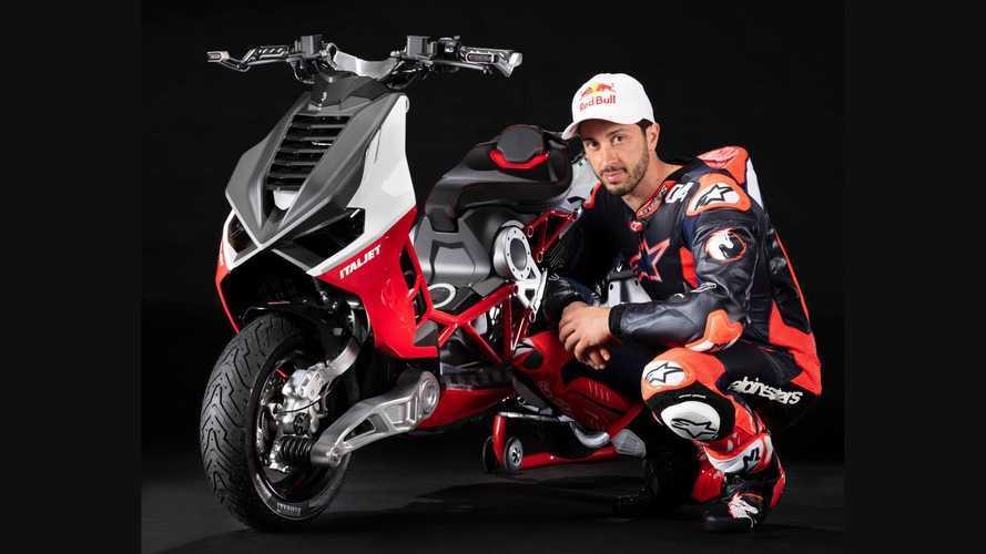 Italjet Recruits MotoGP's Andrea Dovizioso To Develop New Dragster