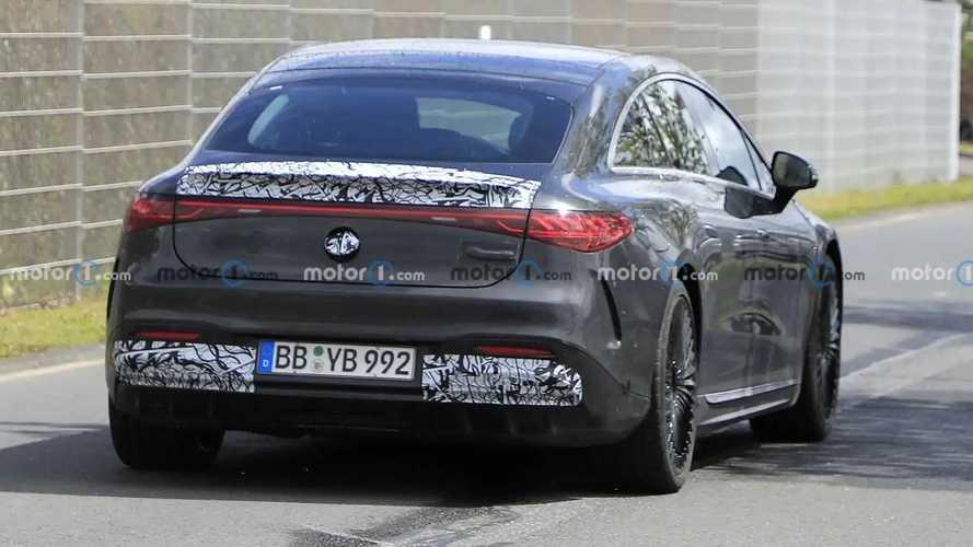Nouvelles photos espion de la Mercedes-AMG EQS