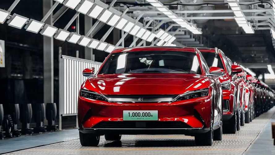 BYD acelera e vendas de carros elétricos crescem 207% em junho