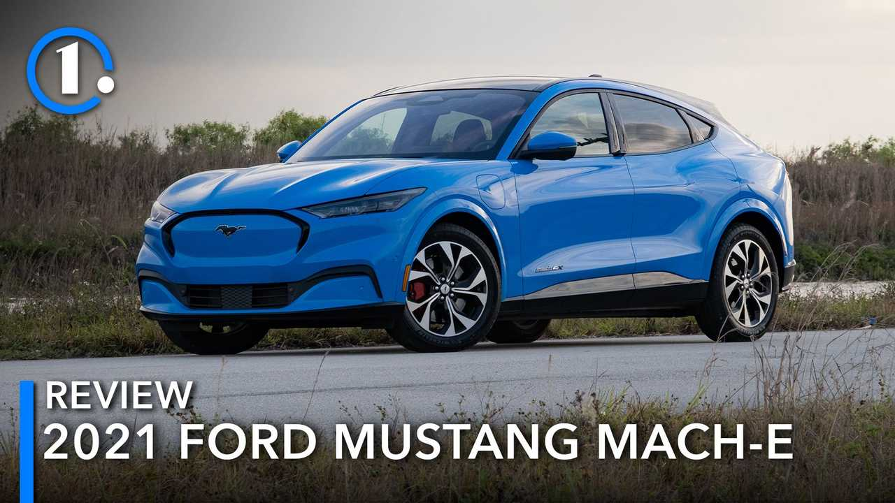 2021 Ford Mustang Mach-E in Grabber Blue