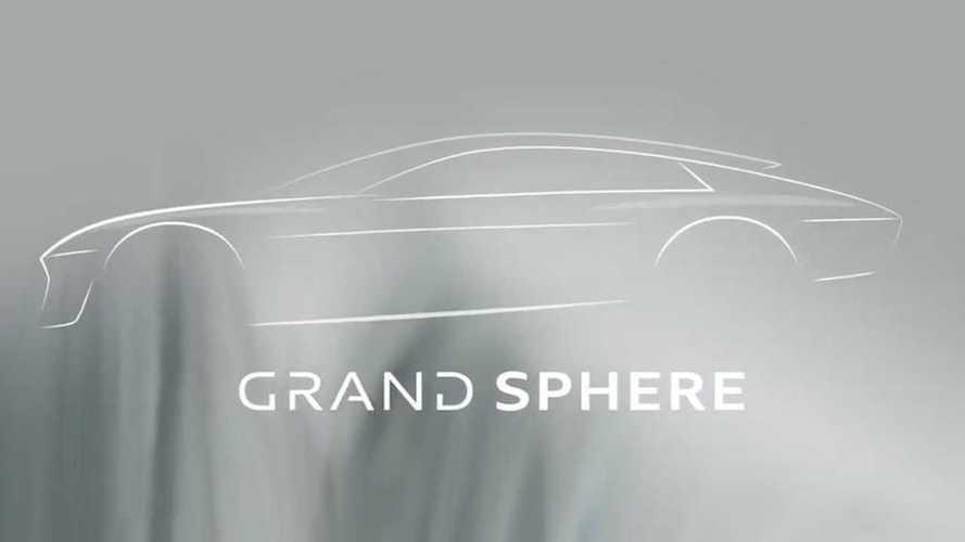 Teaser concept Audi Sphere