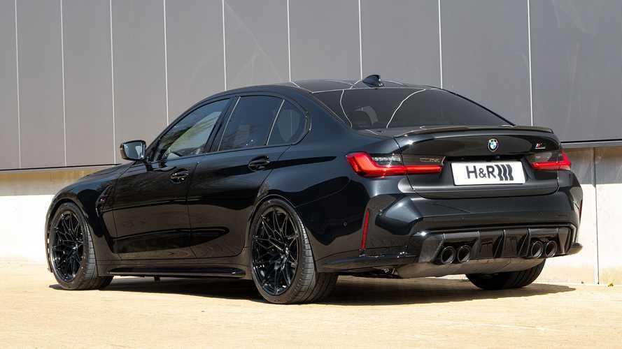 Nuova BMW M3: assetto estremo grazie al kit molle H&R