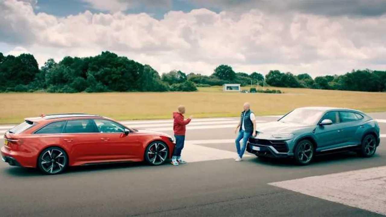 Urus vs. RS6 Avant Top Gear