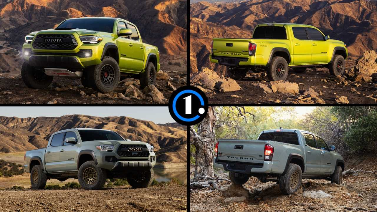 2022 Toyota Tacoma TRD Pro and Trail Edition