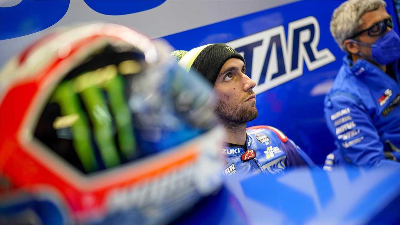 Alex Rins Suzuki Ecstar Racing