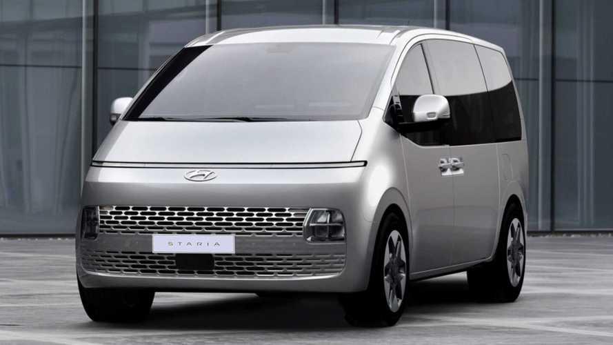 Hyundai Staria (2021) zeigt sich auf neuen Bildern (Update)