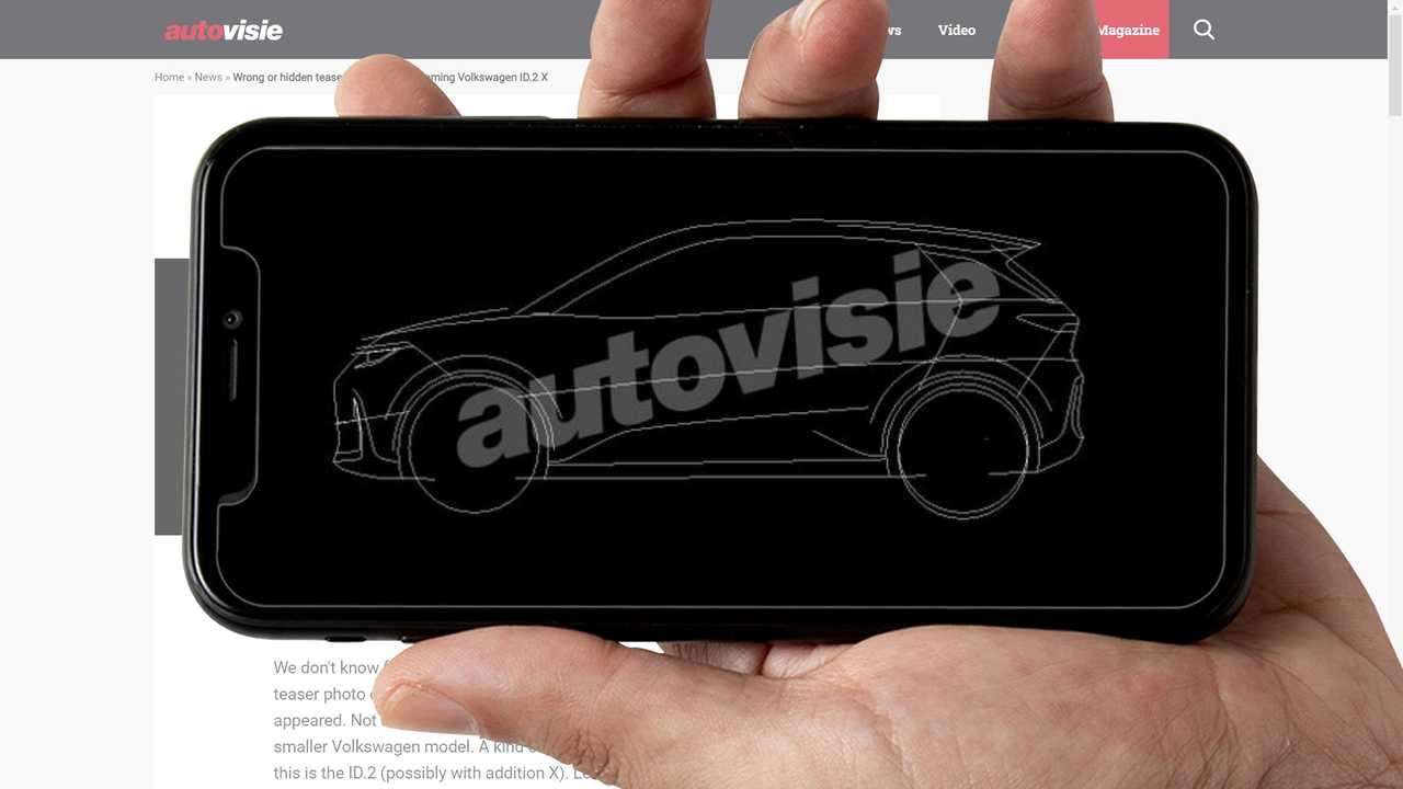 This Could Be The Future Volkswagen ID.2, According To Autovisie