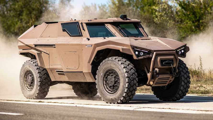 Arquus Scarabee Is A Hybrid Military Vehicle That's Silent And Deadly