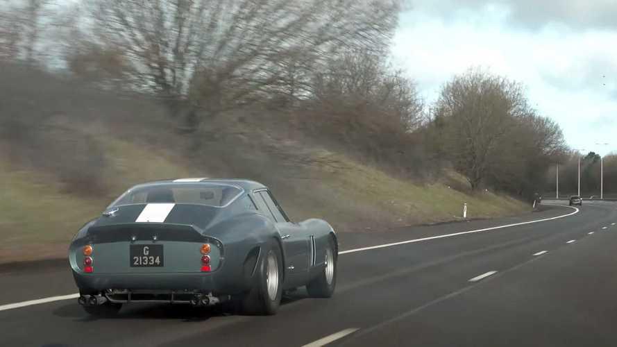 Watch $50 Million Ferrari 250 GTO Get A Proper Workout On Public Roads