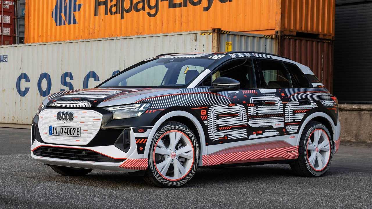 Audi Q4 e-tron, il prototipo e gli interni