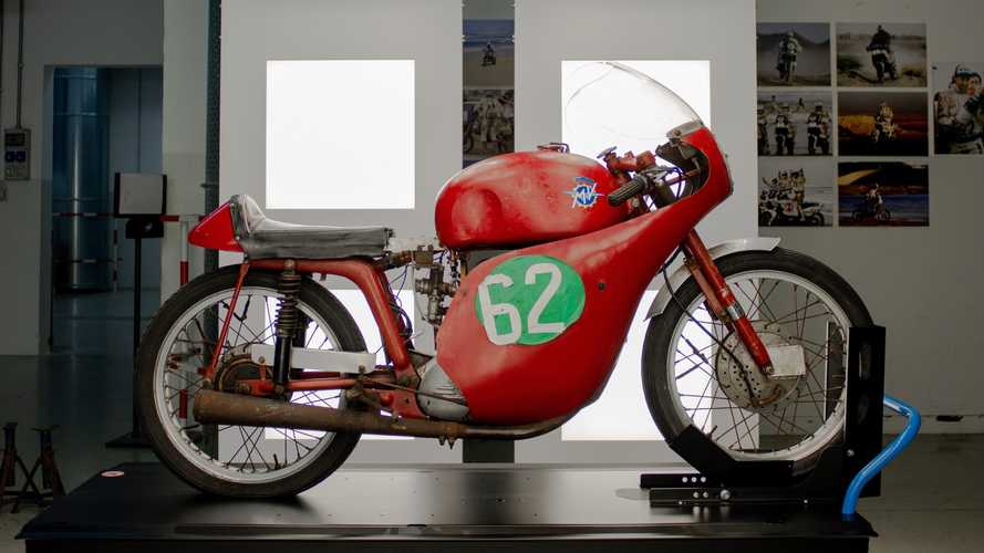 Mike Hailwood-Raced MV Agusta Returns To Schiranna Factory