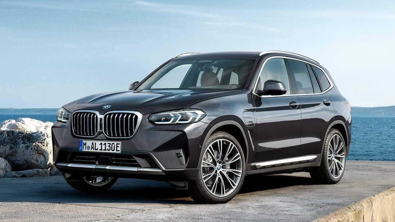 BMW X3 e X4 restyling