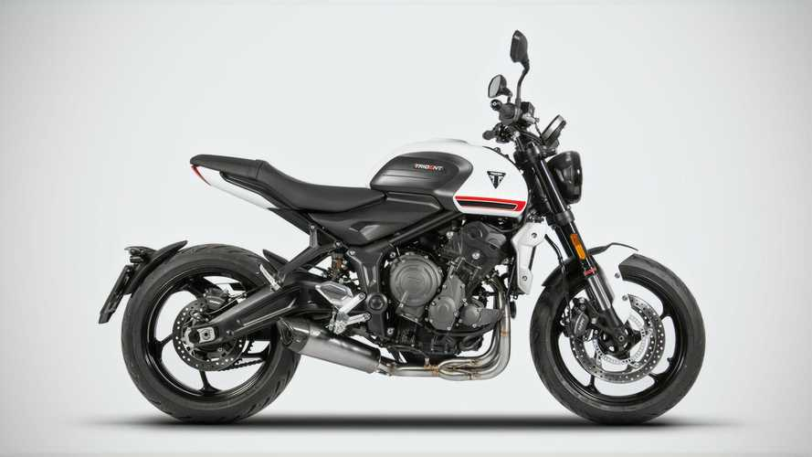 Zard Introduces Full Euro 5 Exhaust System For Triumph Trident 660