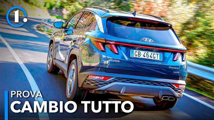 Nuova Hyundai Tucson, la prova video della full-hybrid da 230 CV