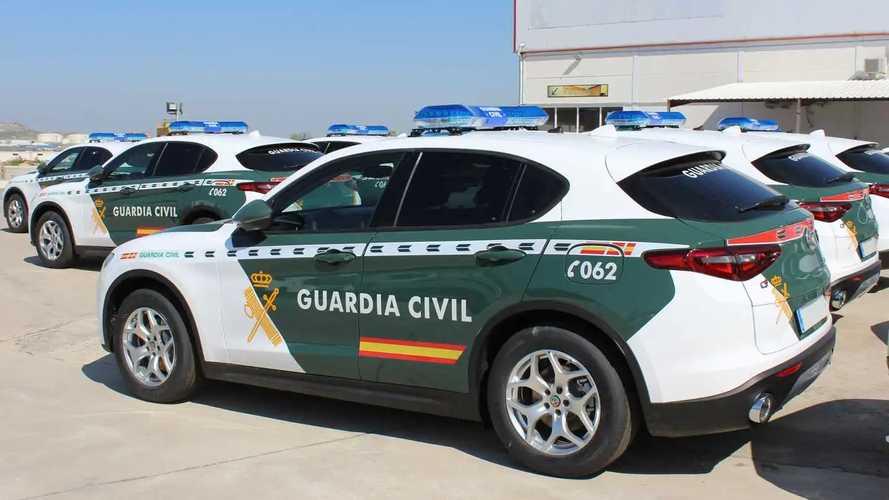 Nuevos Alfa Romeo Stelvio de la Guardia Civil