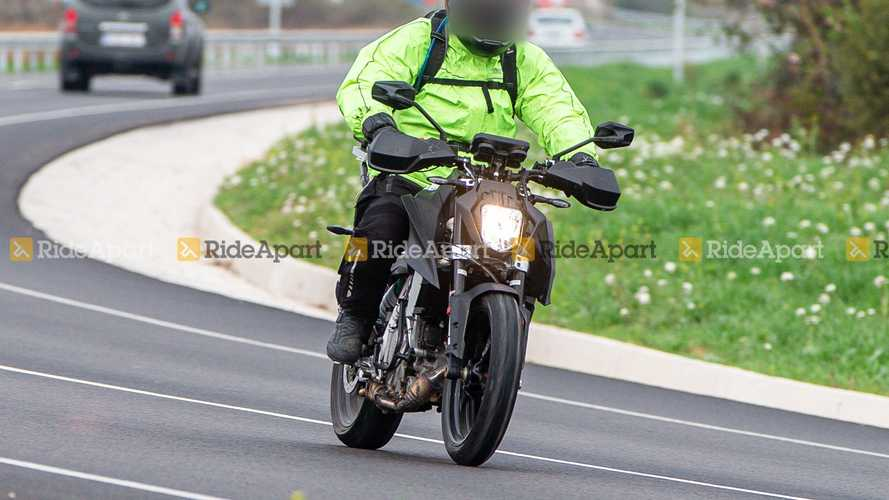 KTM 250 Duke Spy Shots