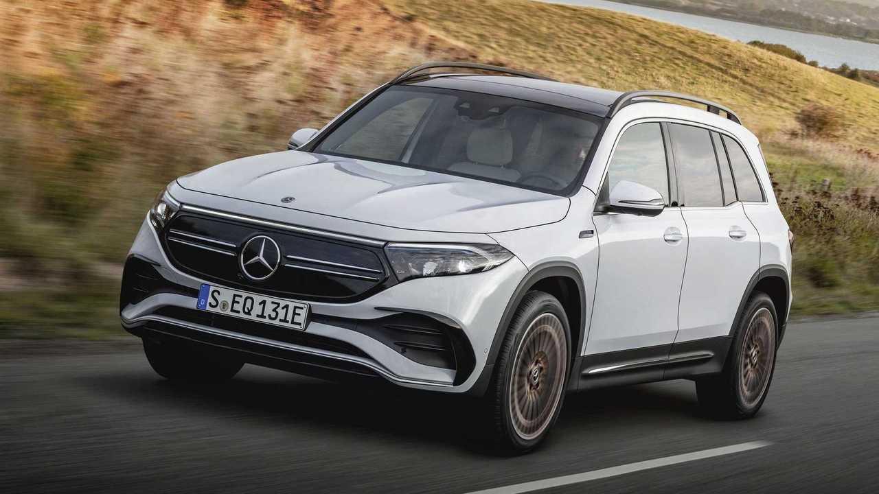 Mercedes-Benz EQB 2022 terungkap untuk kali pertama di Cina.
