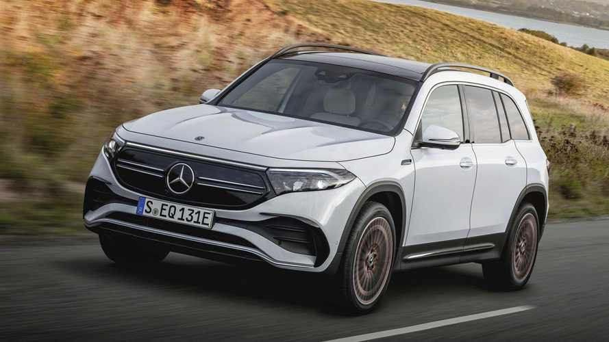 2022 Mercedes-Benz EQB SUV Debuts In China: Coming To US In 2022