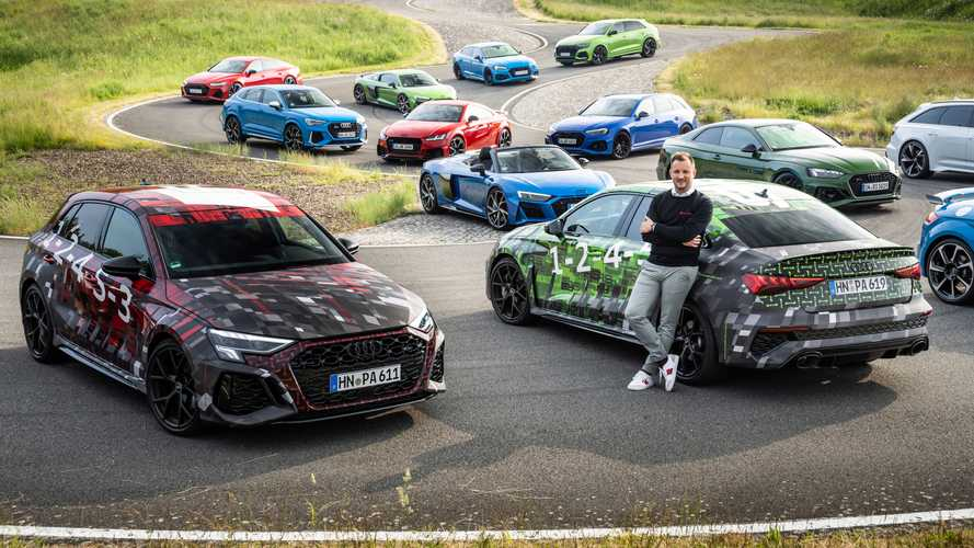 2022 Audi RS3 Sportback and RS3 saloon teased for the first time