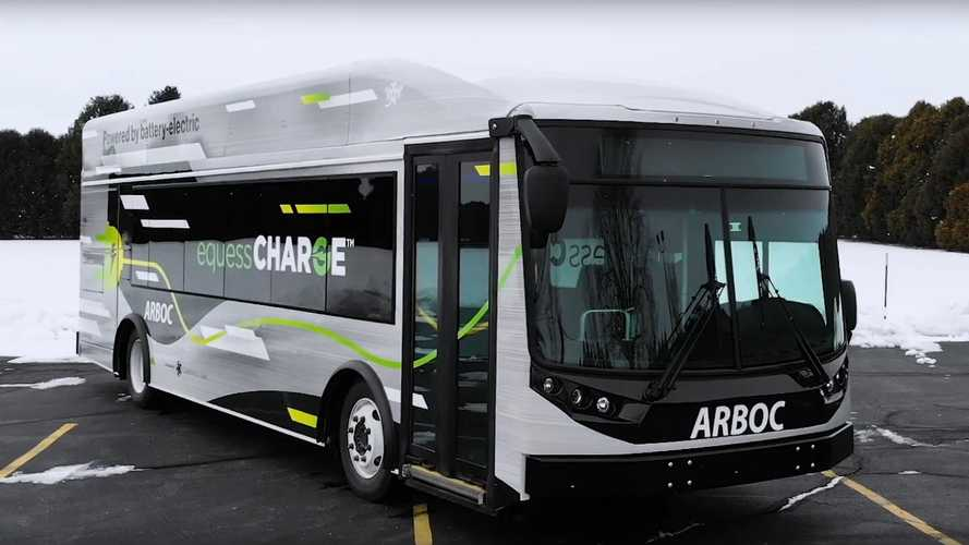 ARBOC Introduces Equess CHARGE Low-Floor Electric Bus