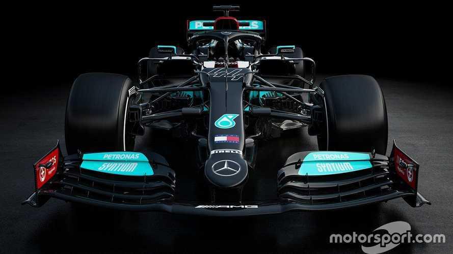 Mercedes F1 muestra el W12 de 2021, coche llamado a la gloria