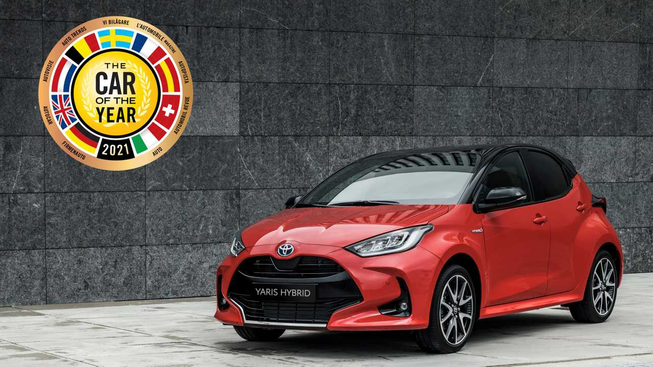 2021 Toyota Yaris named European Car of the Year