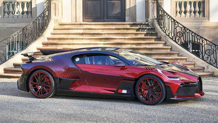 """Bugatti présente l'unique Divo """"Lady Bug"""""""