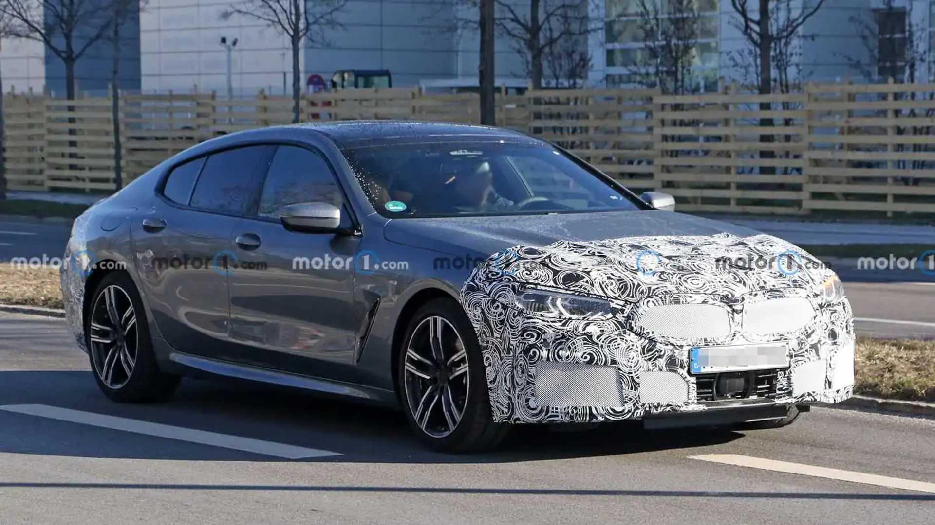 BMW 8 Series Gran Coupe Spy Photos