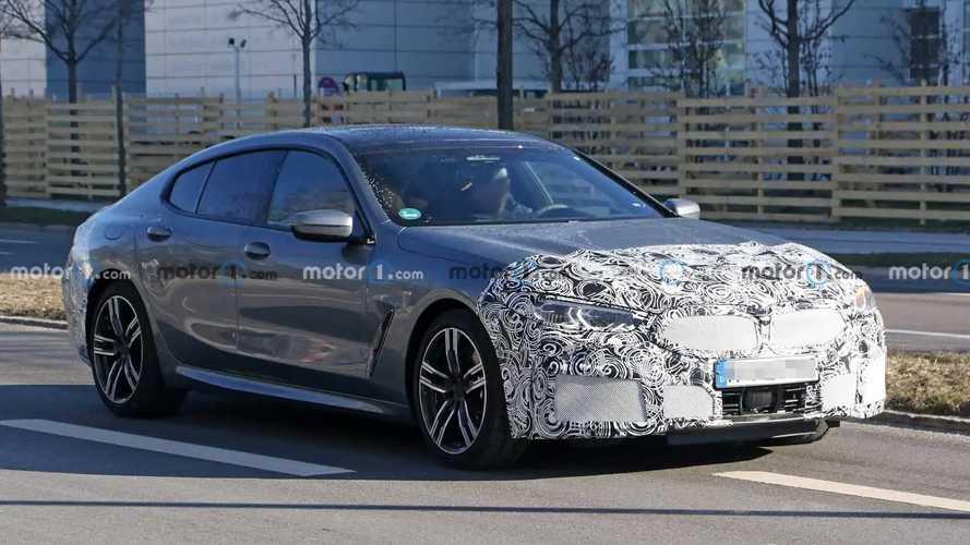 BMW 8 Serisi Gran Coupe casus fotoğraflar