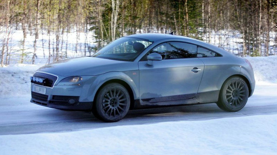 More New Audi TT Spy Photos