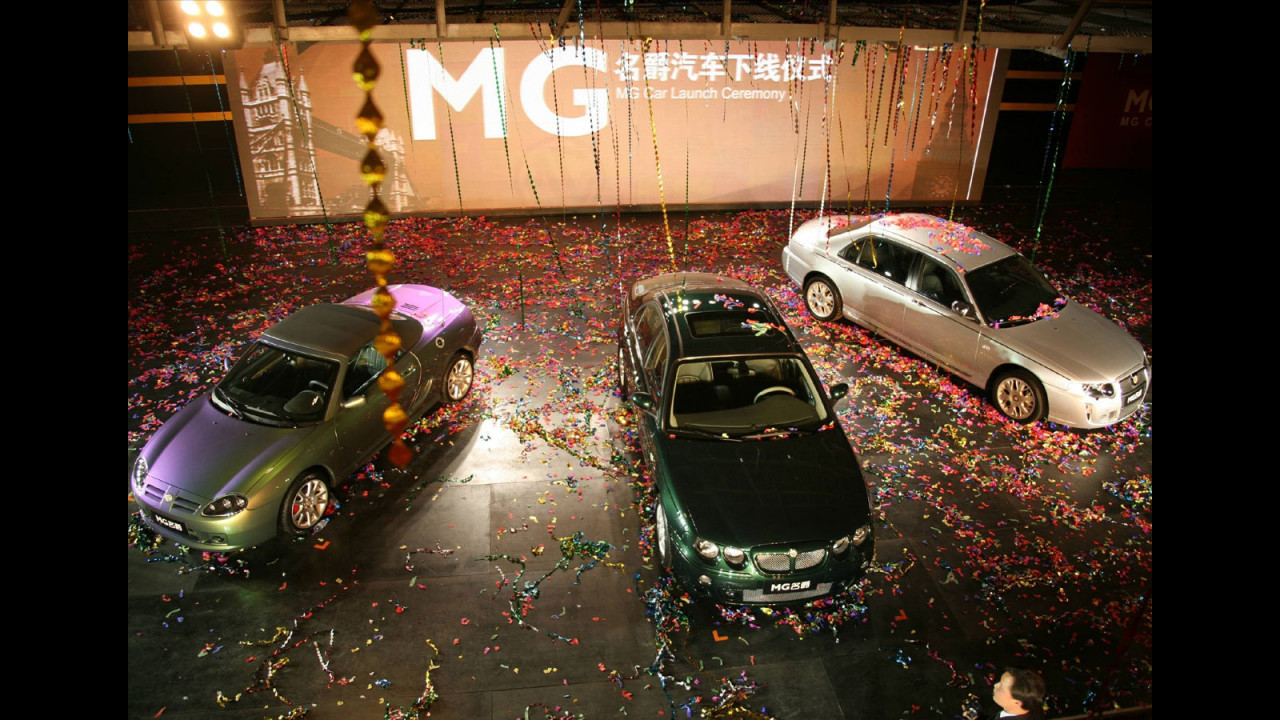 Le MG Made in China
