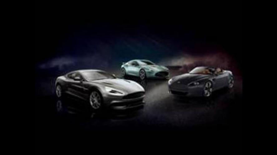 Aston Martin, tre supercar in giro per l'Europa
