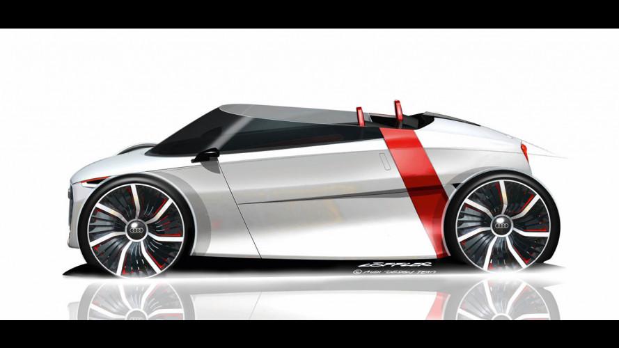 L'Audi Urban Concept è pure Spyder