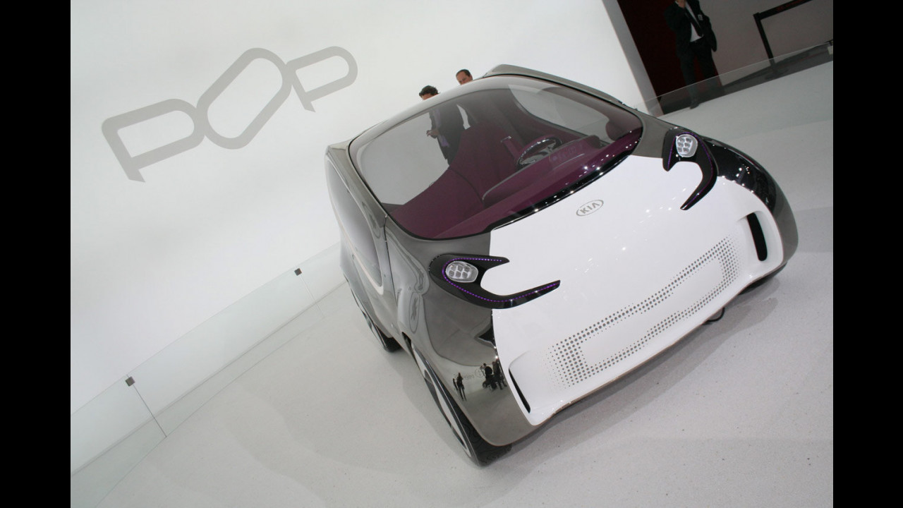 Kia Electric POP concept al Salone di Parigi 2010
