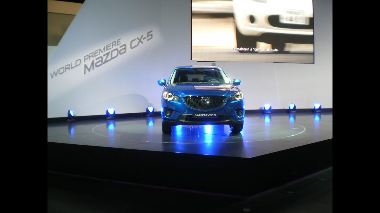 La Mazda CX-5 a Francoforte affronta