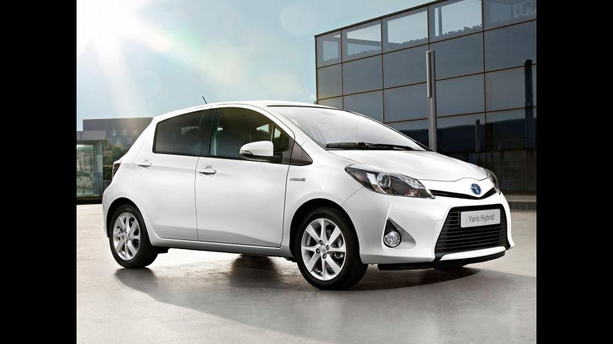 Incentivi auto 2014: Toyota risponde con nove ibride