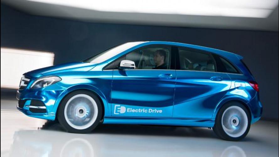 La Mercedes Classe B diventa elettrica
