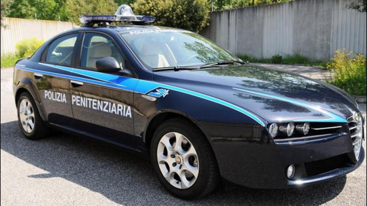 [Copertina] - Auto blu all'asta: esplode il caso della Polizia Penitenziaria