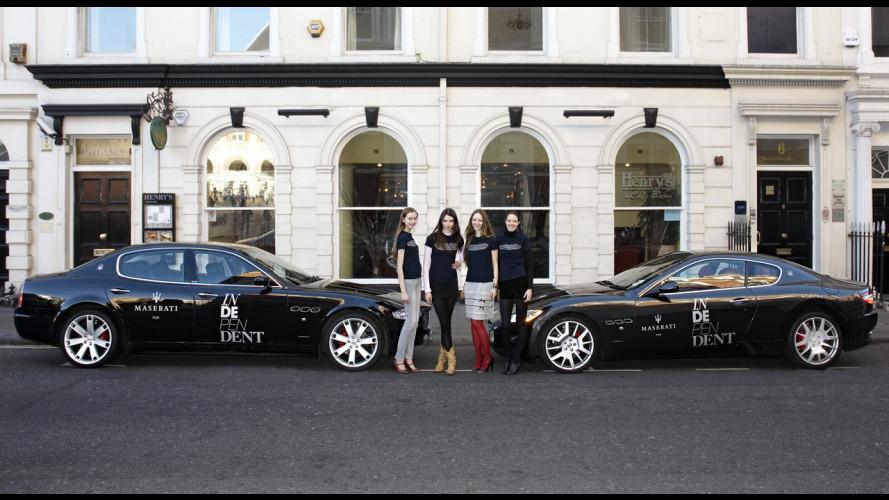 Maserati alla London Fashion Week