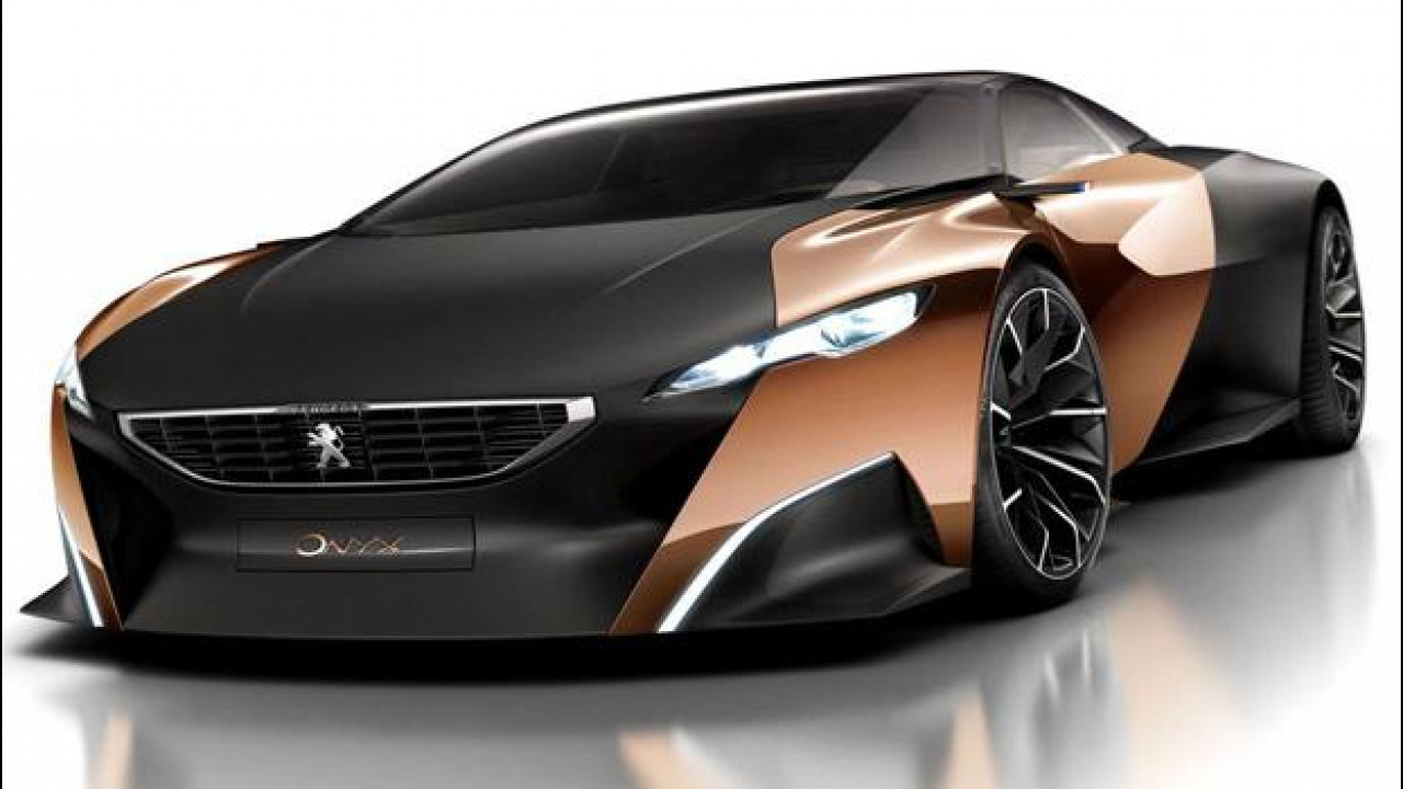 [Copertina] - Peugeot Onyx concept