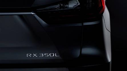 Lexus teases seven-seater RX L SUV ahead of LA show debut