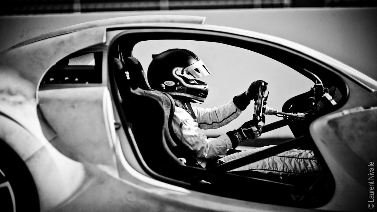 La Citroen Survolt a Le Mans con Vanina Ickx