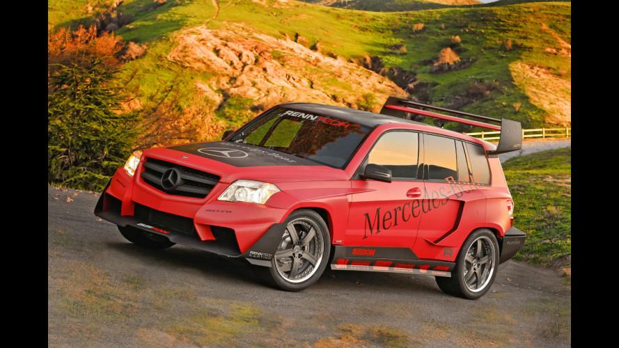 La Mercedes GLK... in tutte le salse!